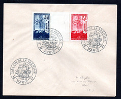 N1-12  France Beaux N° 566a Sur Lettre  A Saisir !!! - 1921-1960: Modern Tijdperk