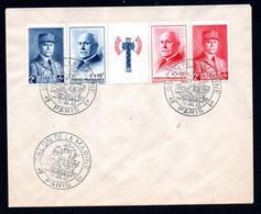 N1-12  France Beaux N° 571A Sur Lettre  A Saisir !!! - 1921-1960: Modern Tijdperk