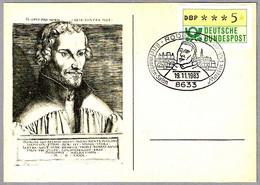 500 Años Nacimiento MARTIN LUTHER (1483 - 1546). MARTIN LUTERO. Rodental 1983 - Cristianismo