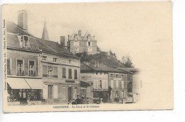 Ardennes GRANDPRE La Place Et Le Château 1906 ....AD - Sonstige Gemeinden