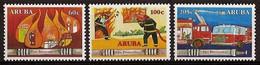 Aruba NVPH Nr 366/368 Postfris/MNH Brandweer, Firebrigade 2006 - Curacao, Netherlands Antilles, Aruba
