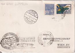 BRESIL 1934 CARTE PAR ZEPPELIN DE PERNAMBUCO - Briefe U. Dokumente