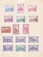 Austria German Österreich 1913 Poster Stamps Vignette Group TURNHALLE - Neufs