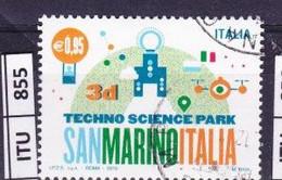 ITALIA REPUBBLICA  2015, San Marino Italia, Usato - 2011-...: Used