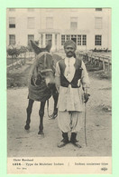 R170 - Militaria - Guerre 1914 - Type De Muletier Indien - âne, Mulet - Cliché Marchand - War 1914-18