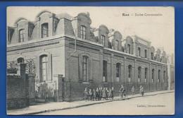 RUE    Ecoles Communales      Animées  écrite En  1916 - Rue