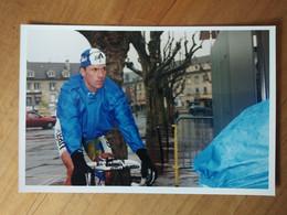 Cyclisme - Photo Personnelle : GAUMONT Philippe En GAN 1996 - Ciclismo