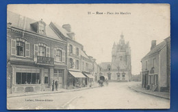 RUE    Place Du Marchés      Animées  écrite En  1916 - Rue