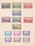 Austria German Österreich 1913 Poster Stamps Vignette Group  SUDMARK - Nuevos