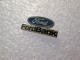 PIN'S   FORD  BANK - Ford