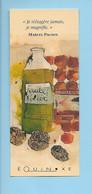 MP - Huile D'olive Et Truffes - Ed. Equinoxe - Marque-Pages