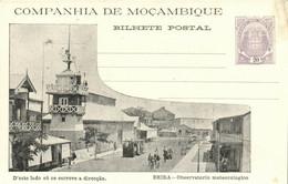 PC CPA MOZAMBIQUE, BEIRA, OBSERVATORIO METEOROLOGICO, Vintage Postcard (b24872) - Mozambique