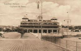 PC CPA MOZAMBIQUE LOURENCO MARQUES CAPITANIA DO PORTO Vintage Postcard (b24882) - Mozambique