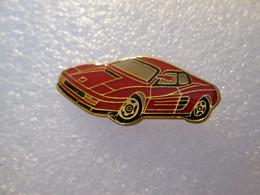 PIN'S    FERRARI  TESTA ROSSA - Ferrari
