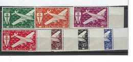 Timbres De La REUNION Poste Aérienne N° 28 à 34 Premier Choix - Airmail