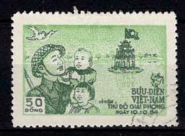 Viêt Nam Du Nord -  1955 - Libération D' Hanoï  - N° 87 - Oblit - Used - Viêt-Nam
