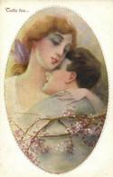 PC CPA C. MONESTIER, ARTIST SIGNED, TUTTA TUA, Vintage Postcard (b26588) - Monestier, C.