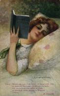 PC CPA C. MONESTIER, ARTIST SIGNED, MA POI CHE COSA, Vintage Postcard (b26596) - Monestier, C.