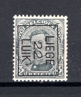 PRE65B MNH** 1922 - LIEGE 22 LUIK - Typo Precancels 1922-26 (Albert I)