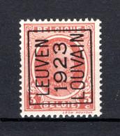 PRE81A MNH** 1923 - LEUVEN 1923 LOUVAIN - Typo Precancels 1922-31 (Houyoux)