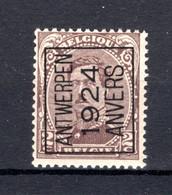 PRE88A MNH** 1924 - ANTWERPEN 1924 ANVERS - Typo Precancels 1922-26 (Albert I)