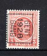 PRE168B MNH** 1928 - GENT 1928 GAND - Typo Precancels 1922-31 (Houyoux)