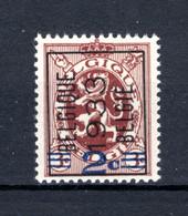 PRE256A MNH** 1933 - BELGIQUE 1933 BELGIE - Tipo 1929-37 (Leone Araldico)