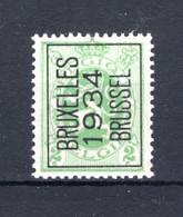 PRE270A MNH** 1934 - BRUXELLES 1934 BRUSSEL - Tipo 1929-37 (Leone Araldico)