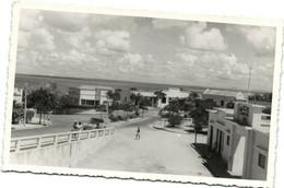 PC CPA MOZAMBIQUE, PORT AMELUN, Vintage REAL PHOTO Postcard (b26743) - Mozambique