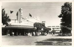 PC CPA MOZAMBIQUE, BEIRA, CINEMA OLYMPIA, Vintage REAL PHOTO Postcard (b26747) - Mozambique