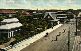 PC CPA MOZAMBIQUE, LOURENCO MARQUES, AVENIDA AGUIAR, Vintage Postcard (b26749) - Mozambique