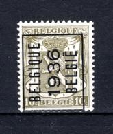 PRE312A MNH** 1936 - BELGIQUE 1936 BELGIE - Tipo 1936-51 (Sigillo Piccolo)