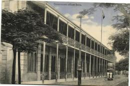 PC CPA MOZAMBIQUE, GOVERNMENT OFFICES BEIRA, Vintage Postcard (b26751) - Mozambique