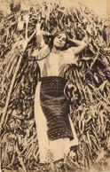PC CPA ROMANIA, PEASANT GIRL, Vintage Postcard (b27476) - Rumania