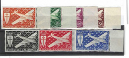 Timbres De La Nouvelle Calédonie Poste Aérienne N° 46 à 52 Premier Choix - Other