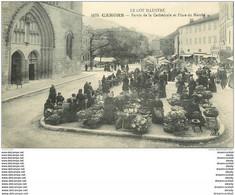WW 46 CAHORS. Parvis De La Cathédrale Et Place Du Marché - Cahors