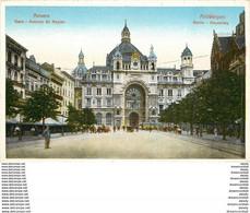 Cpa Cpsm ANVERS ANTWERPEN. Gare Avenue De Keyser - Antwerpen