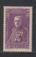 Monaco - N° 138 Neuf* (cote 12 Euros) - Unused Stamps