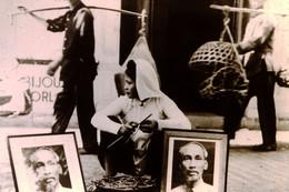 Photo Diapo Diapositive Slide Colonisation & Indépendances N°6 Indochine Hô Chi Minh Leader Indochinois 1954 VOIR ZOOM - Diapositives (slides)