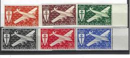 Timbres  Série De LONDRE Poste Aérienne N°1 à 6  Premier Choix - Unclassified
