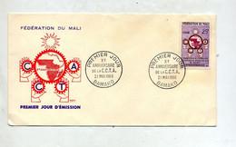 Lettre Fdc 1960 C C T A - Mali (1959-...)