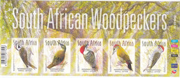 Zuid Afrika 2019, Postfris MNH, Woodpeckers, Birds - Unused Stamps