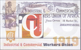 Zuid Afrika 2020, Postfris MNH, Industrial & Commercial Workers Union - Unused Stamps