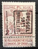 PREO 1734B BRUSSEL 1911 BRUXELLES - Rollini 1910-19