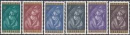 Rwanda 1965 - Christmas: Madonna - Mi 137-142 ** MNH - 1962-69: Neufs