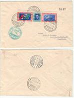 Italie // Poste Aérienne // 1933 // Lettre Avion Numérotée 5519 Italia-Nord Amerika, Crociera Arera Del Decennale - Luftpost