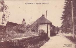 Cpa - 01 - Cressin Rochefort - Entree Du Pays  - Edi Combier - Otros Municipios