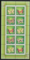 Kazakstan - 1996 - N°Mi. 139 à 142 - Feuillet - Papillons / Butterflies - Neuf Luxe ** / MNH / Postfrisch - Butterflies