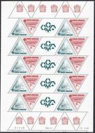 Monaco N°1681/1682, En Feuille Entière Coin Daté, Neufs ** Sans Charnière 1988 - Nuovi