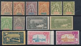 EB--83: GUADELOUPE: Lot */NSG Avec N° Entre 28 Et 117A - Unused Stamps